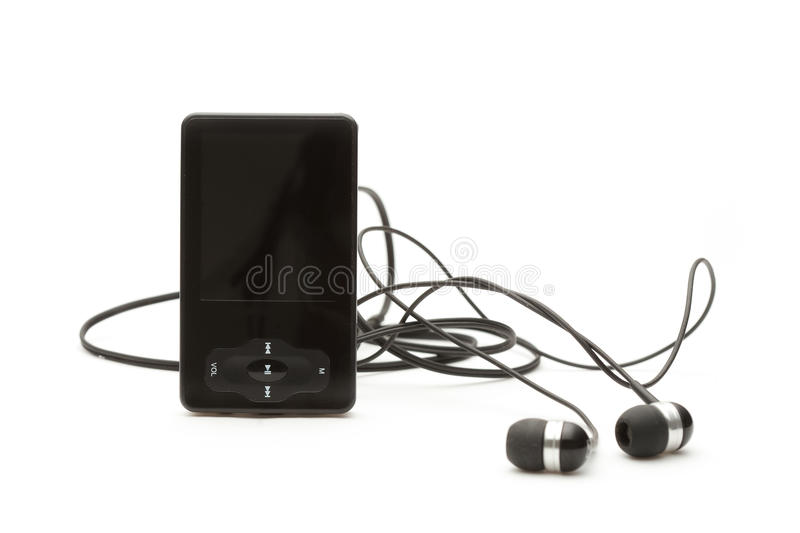 Download MP3 player stock photo. Image of hifi, black, sound, music - 25948746