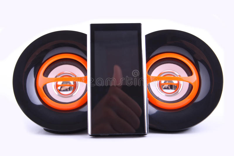 Download Mp3 player stock photo. Image of background, dance, mixing - 27190856