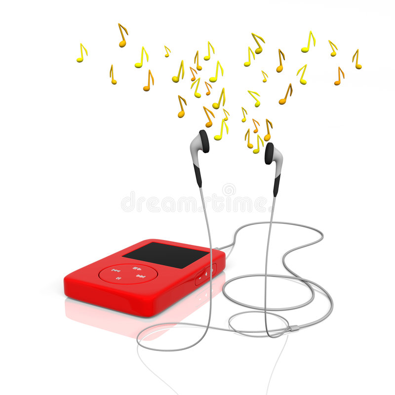 Free Mp3 Player Royalty Free Stock Photo - 3011115