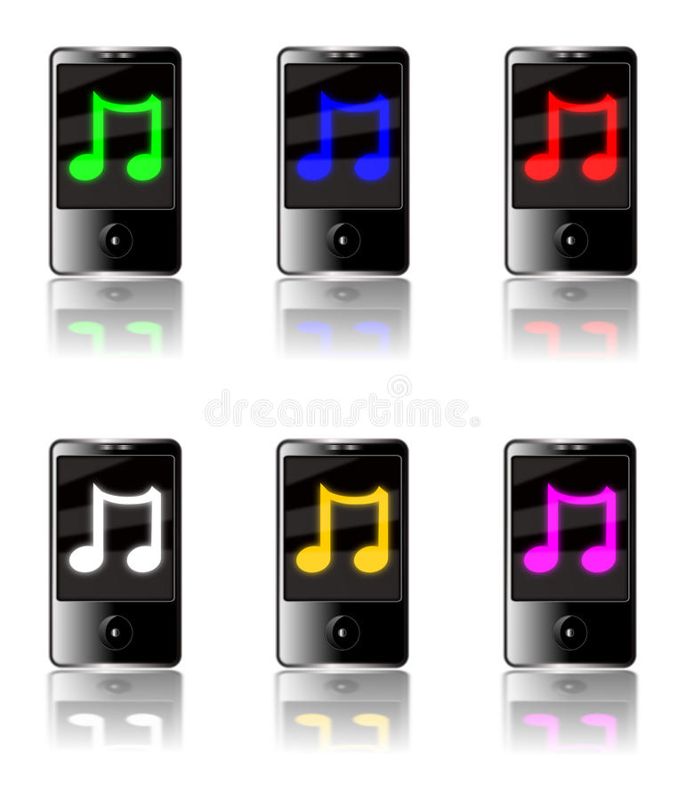Download MP3 Player Music stock illustration. Image of audio, player - 11133831
