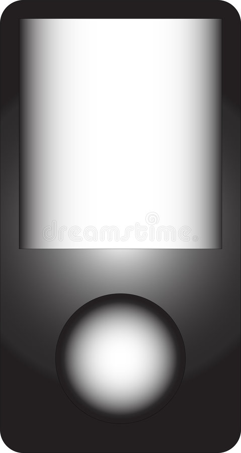 Free Mp3 Player Vector Royalty Free Stock Photo - 5961575