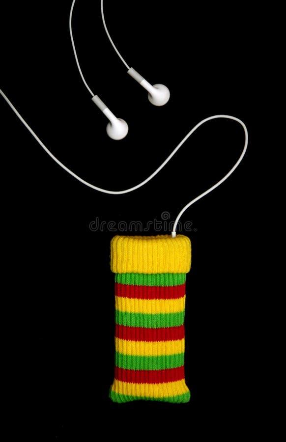 mp3 reggae φορέων μουσικής στοκ φωτογραφία με δικαίωμα ελεύθερης χρήσης