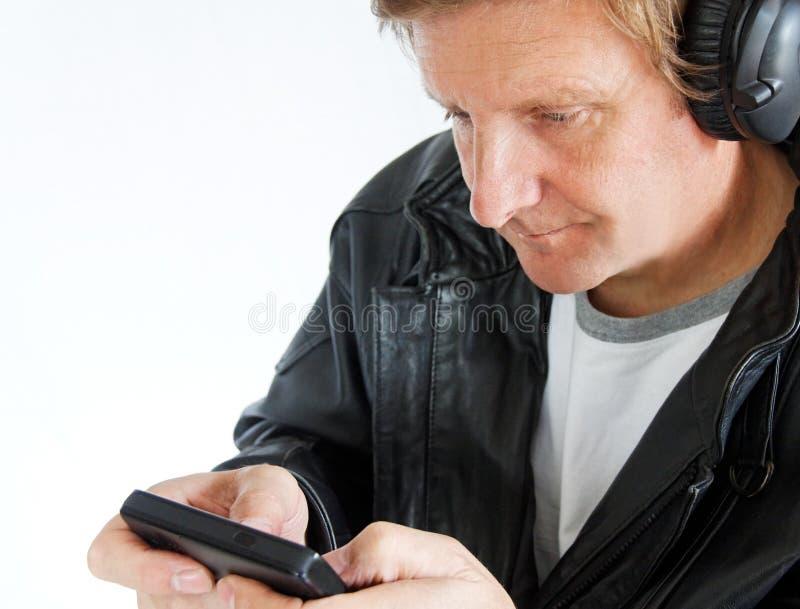 MP3 speler stock foto