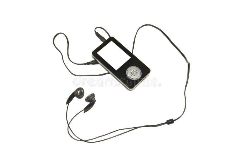 MP3 speler stock foto's