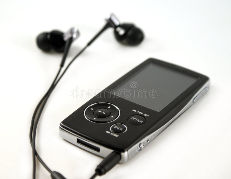Download MP4 PLAYER Royalty Free Stock Photography - Image: 8384547