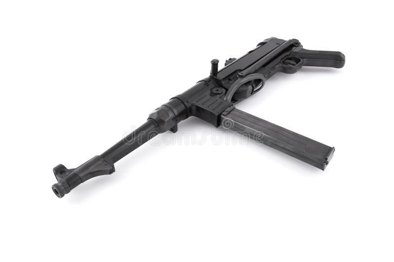 MP40 Duits machinepistool - de era van de Wereldoorlog II stock afbeelding