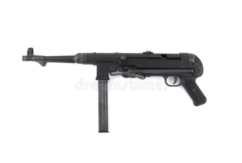 MP40 subfusil ametrallador alemán - era de la Segunda Guerra Mundial imagen de archivo libre de regalías