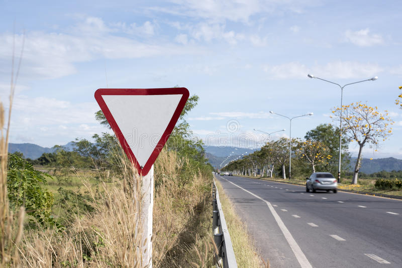 Download Mpty Sign on the Road stock photo. Image of mpty, direction - 85462738