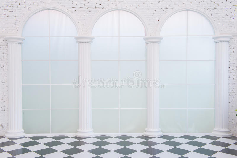 Download Mpty white room stock photo. Image of design, gallery - 66727078