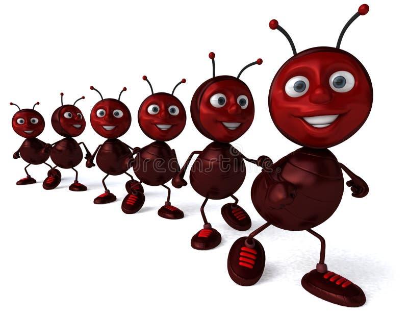mrówki ilustracji