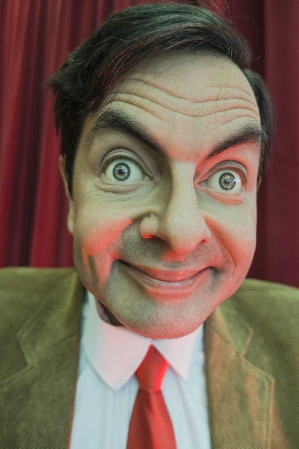 Mr Bobowa wosk postać zdjęcie stock