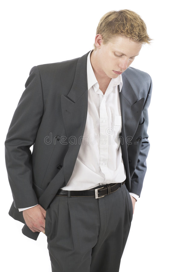 Mr cool suit 3 royalty free stock photos