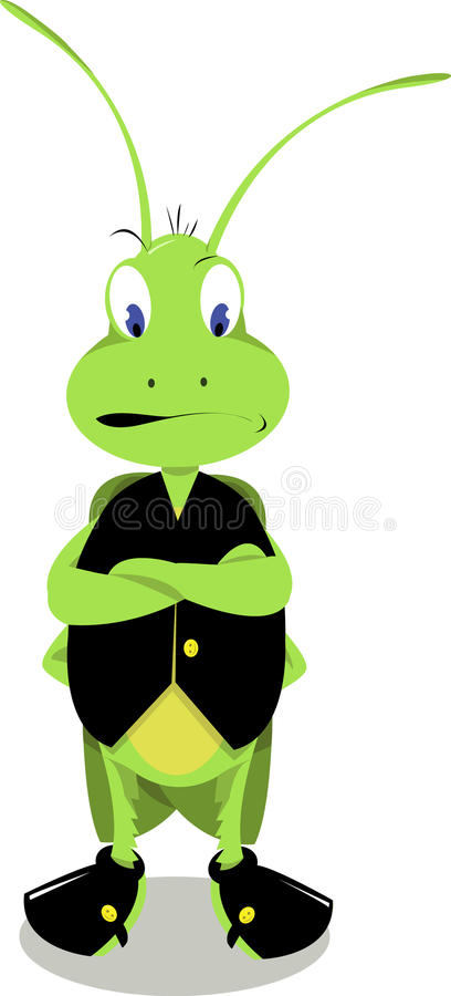 Free Mr. Cricket Is Angry Stock Photo - 27089990