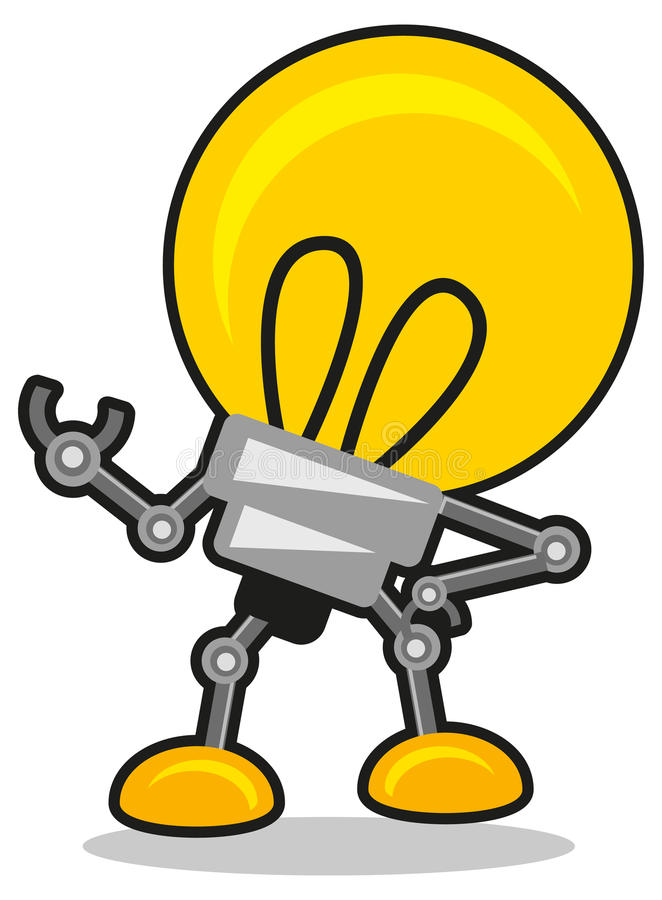Mr lamp stock illustration