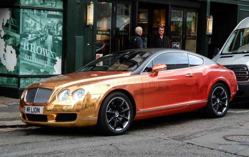 Mr lew Bentley zdjęcia stock