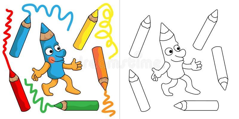 Mr ołówek ilustracji