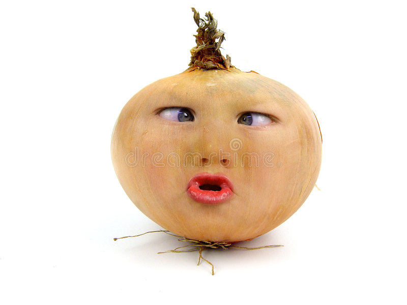 Mr Onion stock photography