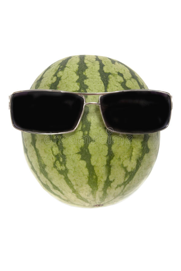 Mr watermelon stock photos
