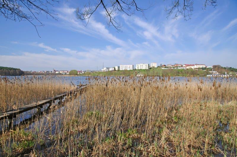 Mragowo, Masuria, Polen stock fotografie