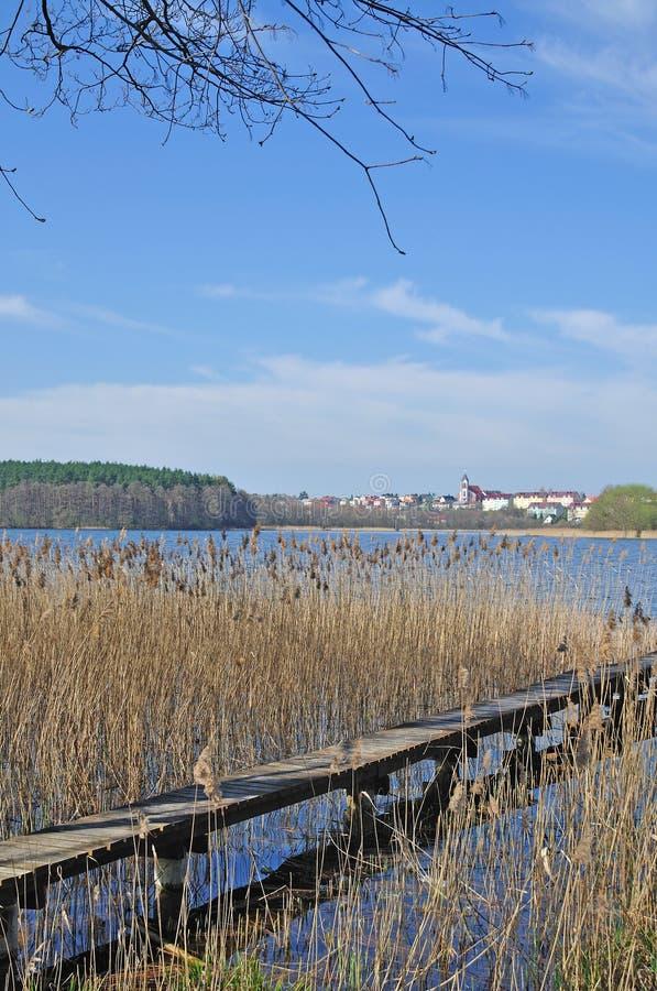 Mragowo, Masuria, Polen royalty-vrije stock foto's