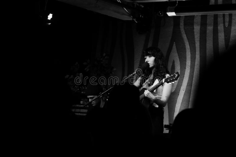 Mree Live Performance at Doug Fir Portland Oregon royalty free stock image