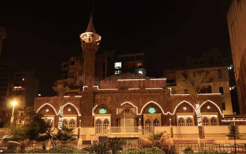 mreisseh мечети el Ливана ein beirut стоковые изображения