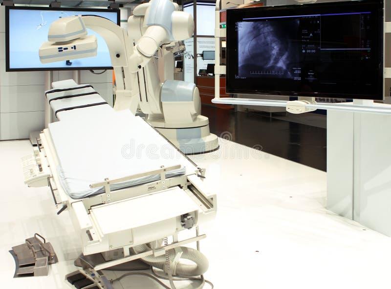 MRI在医院 免版税库存照片