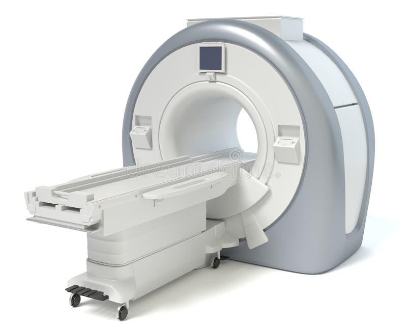 MRI-maskin vektor illustrationer