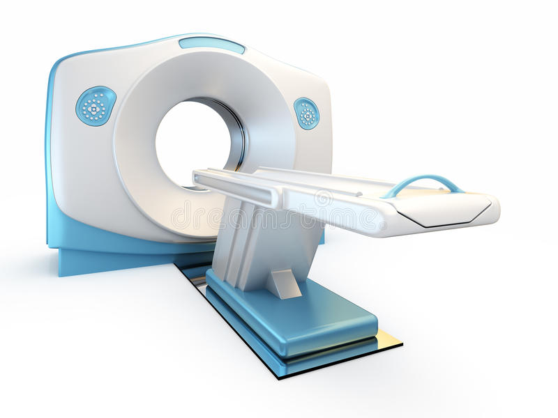 Download MRI Scanner, Isolated On White Background. Stock Illustration - Image: 19887081