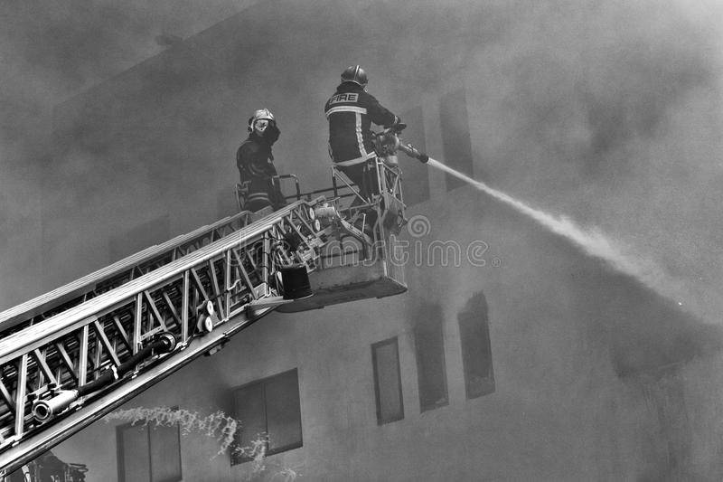 Download Mriehel Fire Editorial Stock Image - Image: 19249269