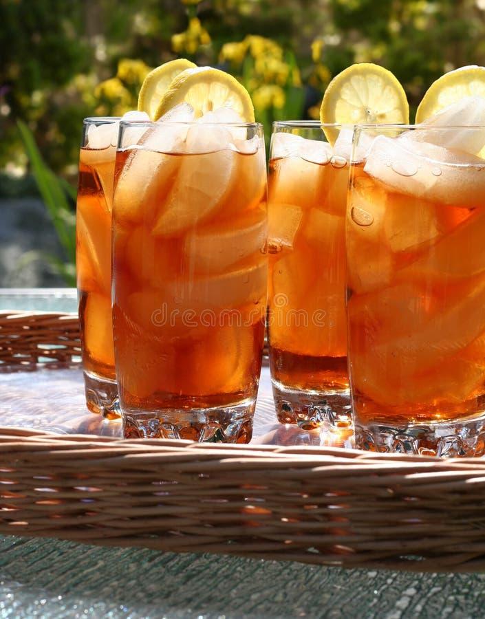 mrożonej herbaty zdjęcie stock