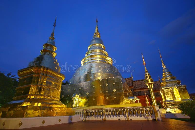 Mroczna pagoda zdjęcie stock