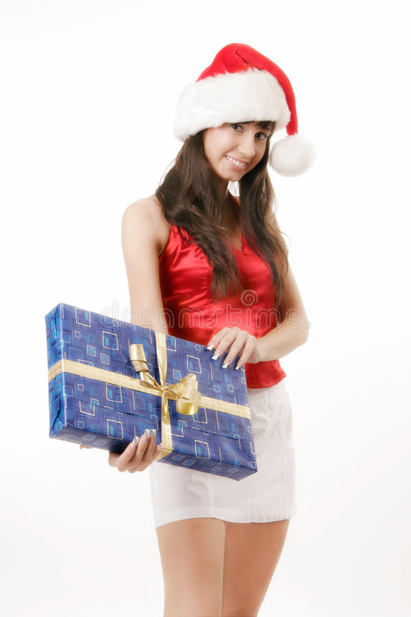 Mrs Clause royalty free stock image
