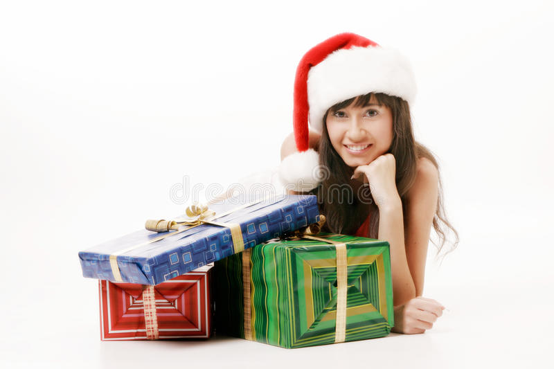 Mrs Clause stock image