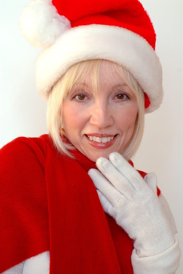 Mrs Santa royalty free stock photography
