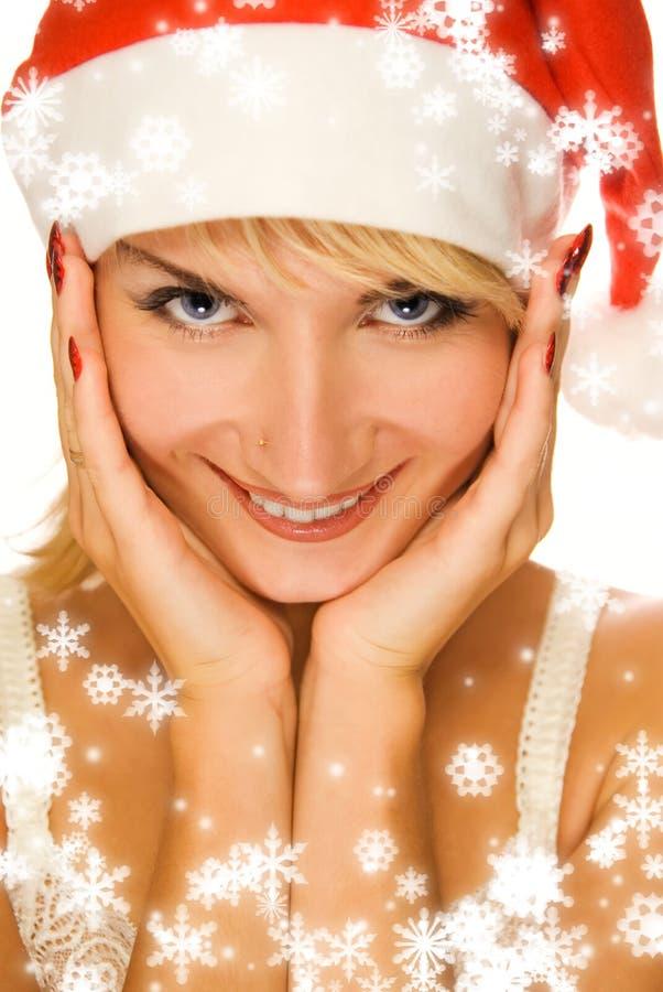Mrs. Santa Royalty Free Stock Image