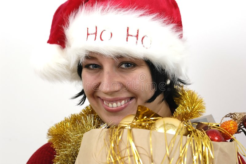 Download Mrs Santa Claus stock photo. Image of wear, present, chic - 286562