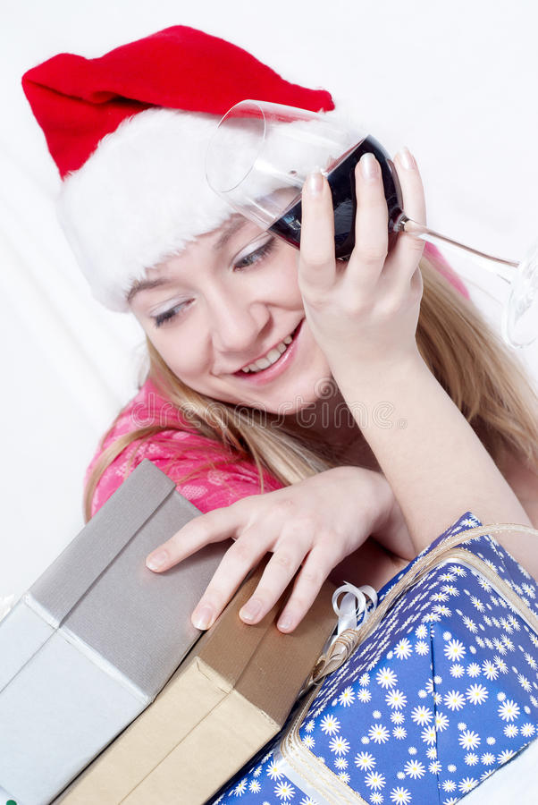 Download Mrs. Santa Clause stock image. Image of festive, beautiful - 10978015