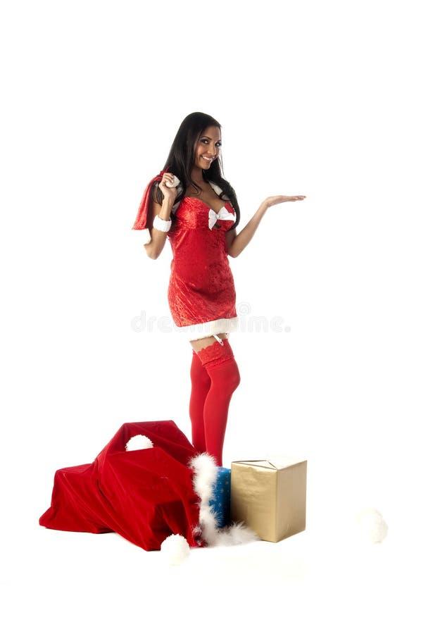 mrs Santa seksowny obraz royalty free