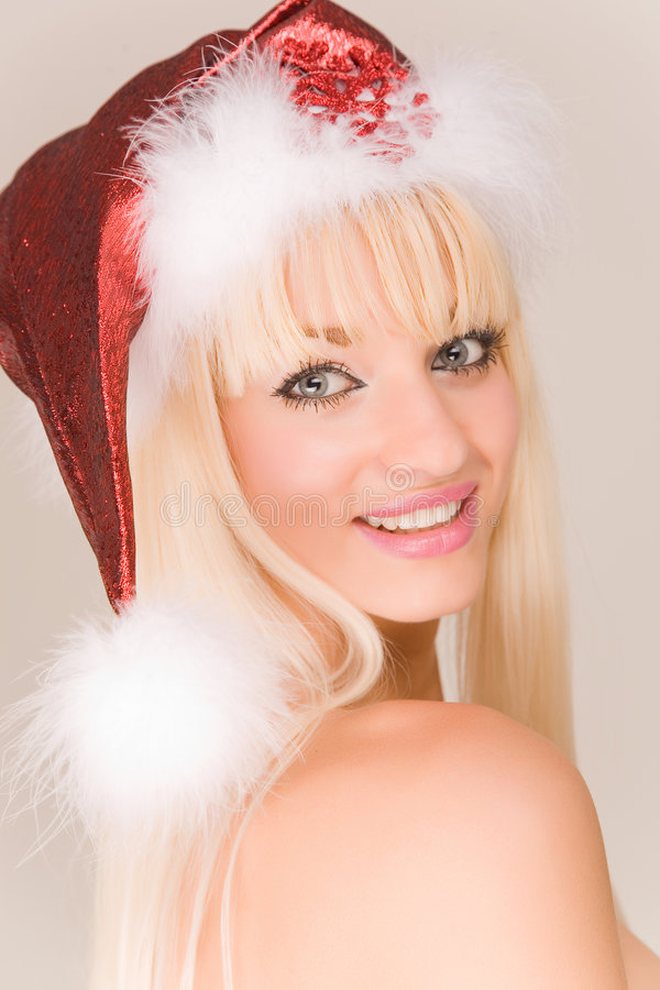 mrs santa sensual στοκ εικόνα με δικαίωμα ελεύθερης χρήσης