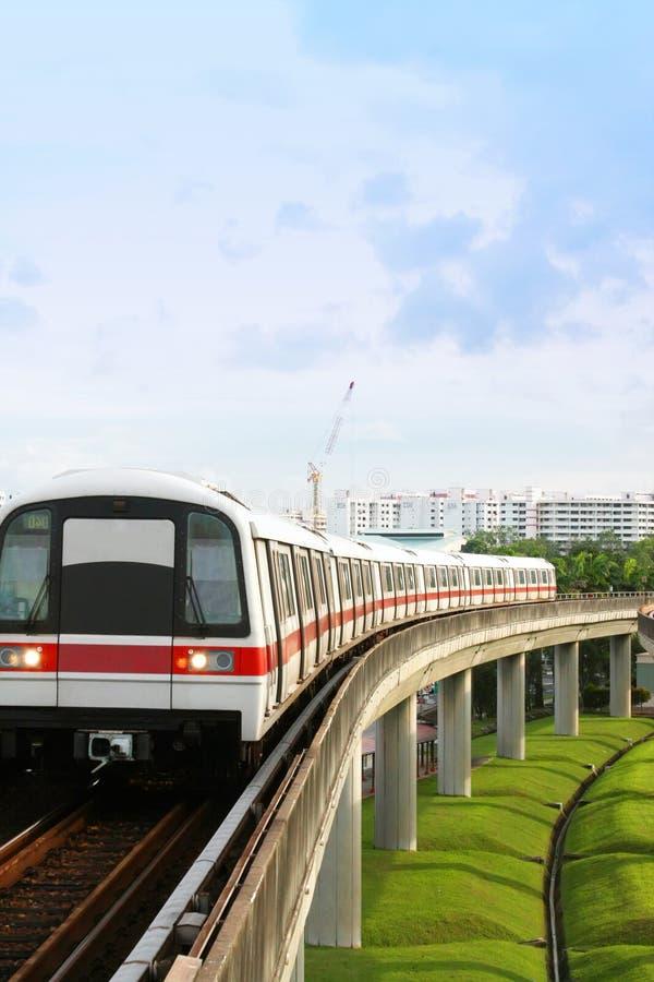 MRT de Singapur fotografía de archivo
