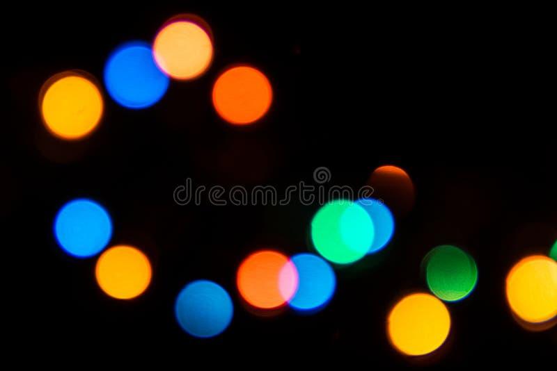 Mrugać długo świateł - boże narodzenia, nowy rok dekoracje 12 obrazy royalty free