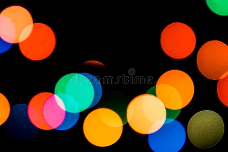 Mrugać długo świateł - boże narodzenia, nowy rok dekoracje 11 fotografia royalty free