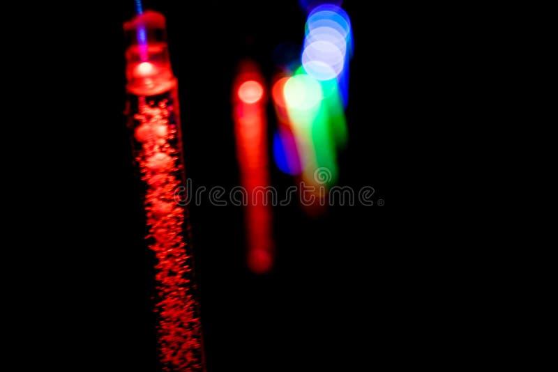 Mrugać długo świateł - boże narodzenia, nowy rok dekoracje 09 zdjęcia stock