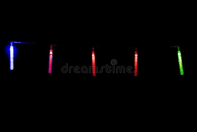 Mrugać długo świateł - boże narodzenia, nowy rok dekoracje 05 fotografia royalty free