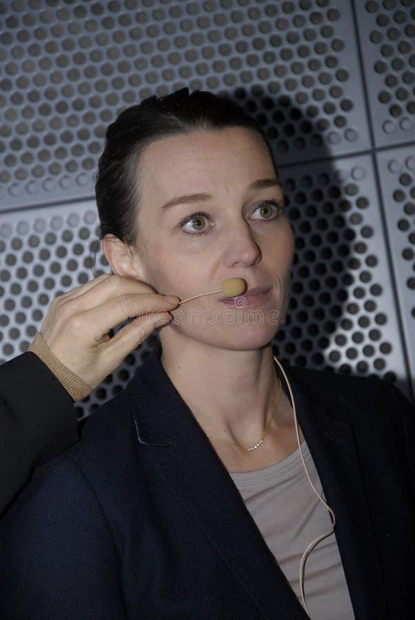 Ms KIRSTEN BROSBOL _MINISTER FÖR ENVORNMENT arkivbilder
