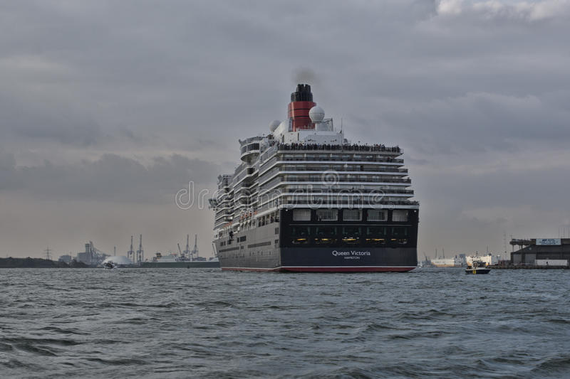 MS Queen Victoria royalty free stock images