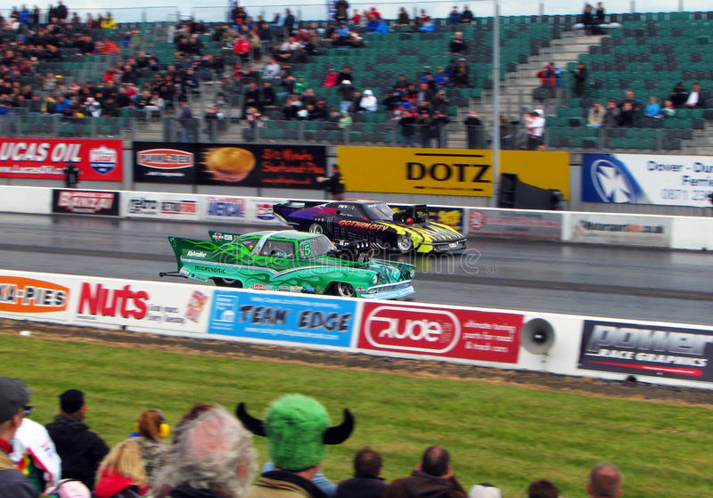 MSA Pro Modified Dragster Race Editorial Photo