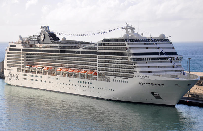 MSC Magnifica obrazy royalty free