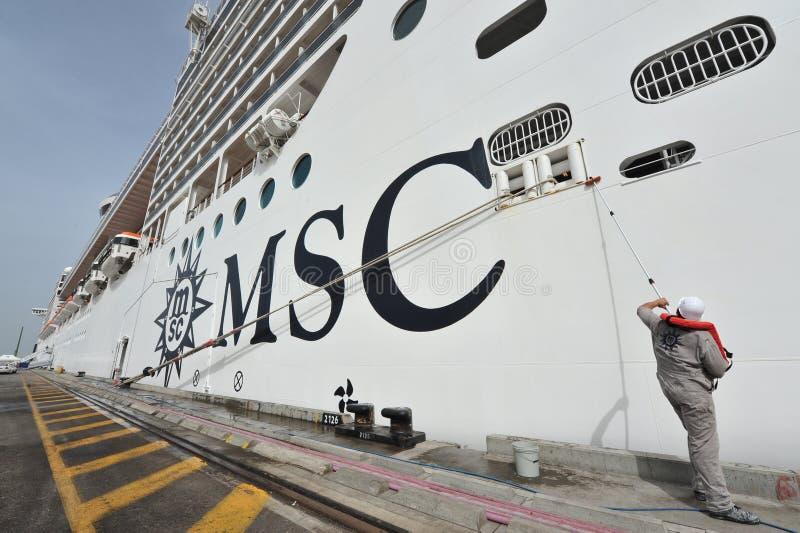 MSC - SPLENDIDA stockfoto